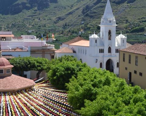 Plaza de La Luz, en Los Silos
