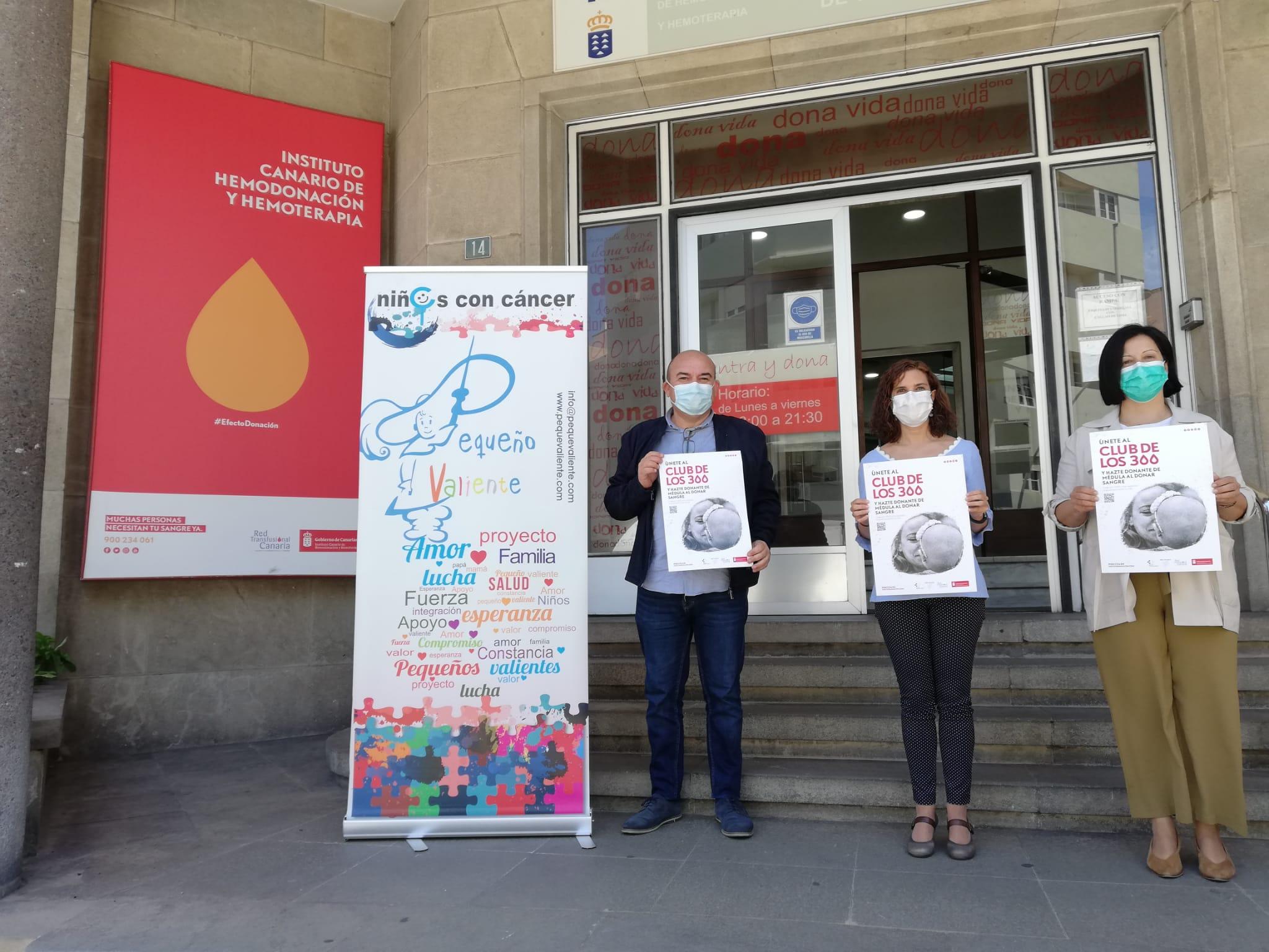El ICHH presenta una nueva campaña de colaboración para promocionar la donación de médula ósea   El Periódico de Ycoden Daute